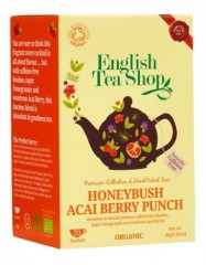 ENGLISH TEA SHOP Medový keř a Acai 20 x 1,5 g