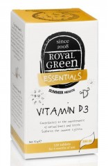 ROYAL GREEN Vitamin D3 120 kapslí