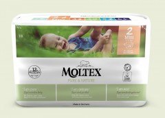 MOLTEX Plenky Moltex Pure & Nature Mini 3-6 kg (38 ks)