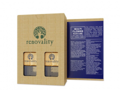RENOVALITY Multi Flower Car Perfume, vůně do interiéru, 2x7 ml