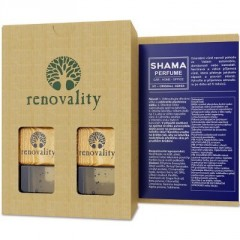RENOVALITY Multi Shama Car Perfume, vůně do interiéru, 2x7 ml