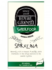 ROYAL GREEN BIO Spirulina 60 kapslí